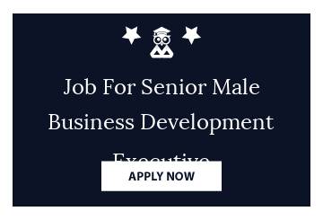 Job For Senior Male Business Development Executive