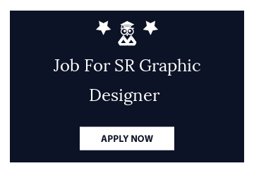 Job For SR Graphic Designer