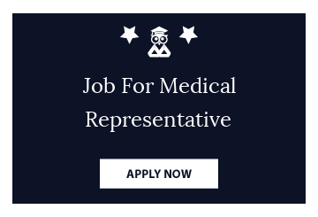 Job For Medical Representative