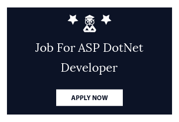 Job For ASP DotNet Developer